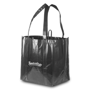 "Reusable Heavy Duty Grocery Bag  13""W x 15\""h x 10\""G"