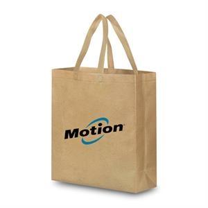 Reusable Faux Brown Bag