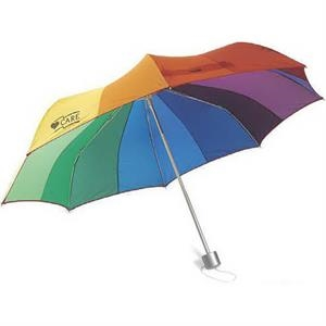 Color Spectrum Umbrella Collapsible