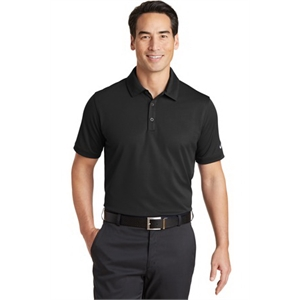 Nike Golf Dri-FIT Solid Icon Pique Modern Fit Polo.