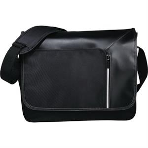 "Vault RFID Security 15"" Computer Messenger Bag"