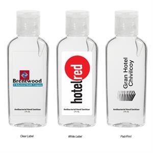 2 Oz. Antibacterial Hand Sanitizer Bottle