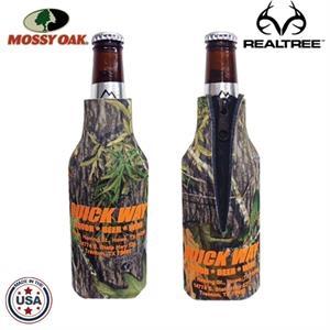 12oz Longneck Bottle Zipper Coolie