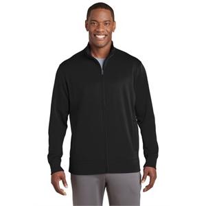 Sport-Tek Sport-Wick Fleece Full-Zip Jacket.