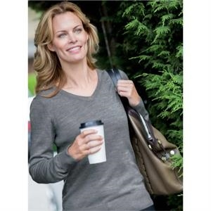 CB Douglas Long-Sleeved Ladies' V-Neck