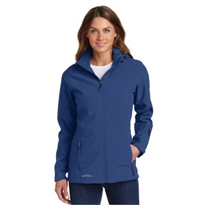 Eddie Bauer Ladies Hooded Soft Shell Parka.