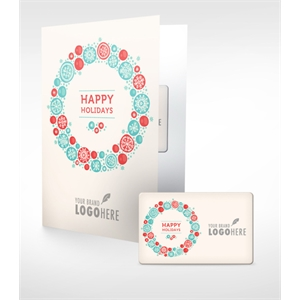 Holiday Music Download Card