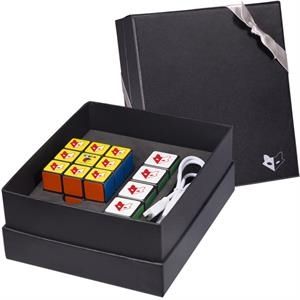 Rubik's (R) Mobile Charger & Cube Set