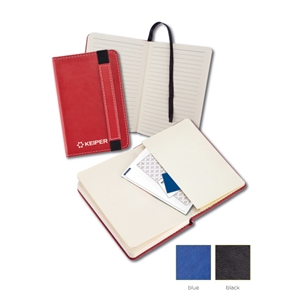 """Leatherette 3""""x 5"""" Junior Journal with Pocket"""