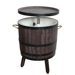 Barrel coolers are a great addition to any outdoor space