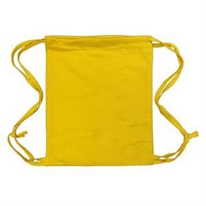 Athletic Gold 14x17 Blended Knitted Drawstring Bag.