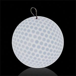"""Golf Ball 2 1/2\"""" Plastic badge Medallion"""