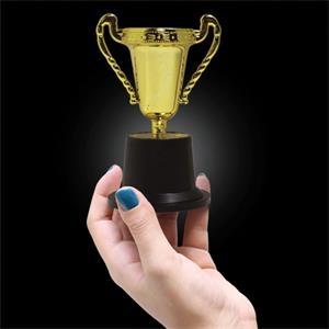 Plastic Gold Trophy