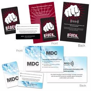 RFID Data Blocker Card