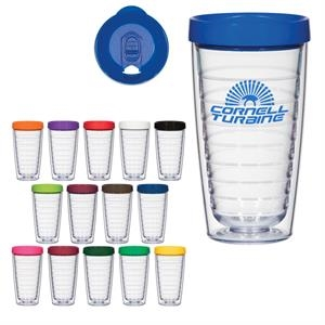 Hydro 16 oz double wall tumbler with lid