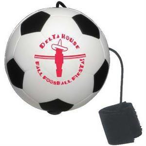 Soccer Ball Yo-Yo Bungee Stress Reliever