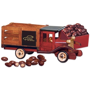 Classic 1925 Stake Truck with Milk Chocolate Almonds