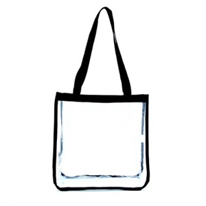 Square Clear Tote Bag