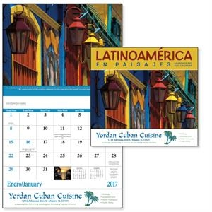 Stapled Latin America Scenic Appointment Calendar