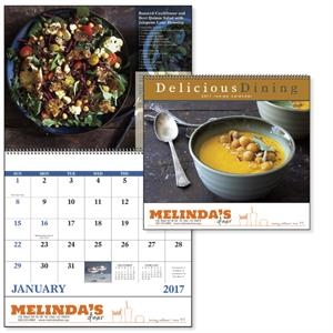 Spiral Delicious Dining Lifestyle Appointment Calendar