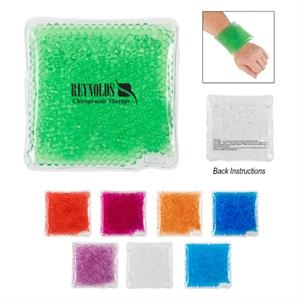 Therapeutic Square Hot Cold Gel Pack With Beads
