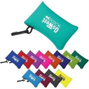Neoprene Card Sleeve with Clip