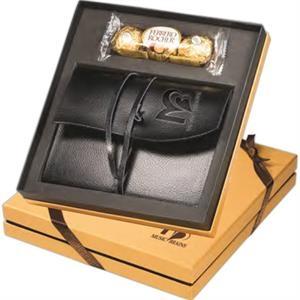 Ferrero Rocher (R) Chocolates & Wrapped Journal Gift Set
