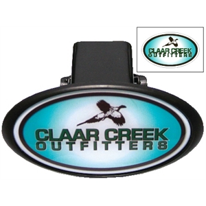 Laminated Oval Hitch Cover