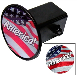 Domed Circle Hitch Cover