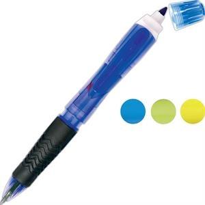 Neon Tri-Twist Pen/Pencil/Highlighter