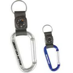 Carabiner Thermometer Key Tag