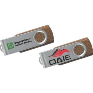 512MB Hi-Speed USB 2.0 Wood Swing Drive (TM) WS