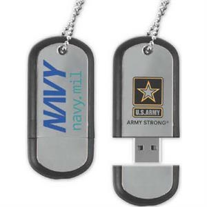 512MB Dog Tag Drive (TM) DT