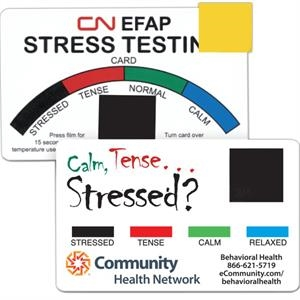 Stress relief card