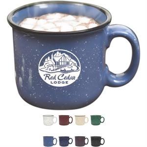 White Camper Mug