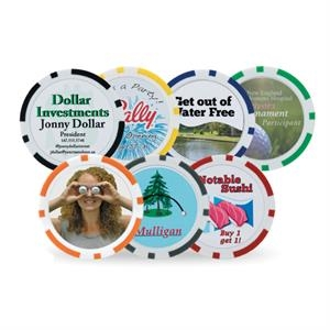Poker Chip Ball Marker