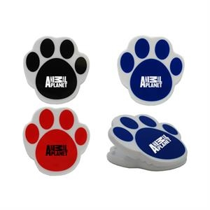 MAGNETIC PAWPRINT SHAPED CLIP