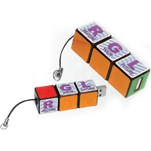 Rubik's (R) Custom USB Puzzle Drive 2.0