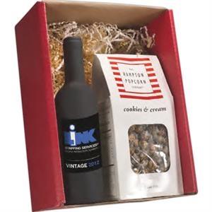 Gourmet Popcorn & Wine Tool Gift Set