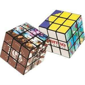 Rubik's (R) 9-Panel Full Custom Cube