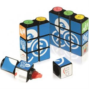 Custom Rubik's (R) Highlighter Set With Magnets