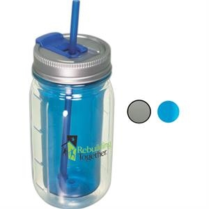 Cool Gear (TM) Mason Jar Water Bottle