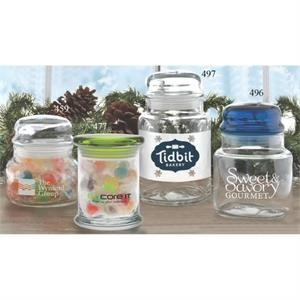 Medium Holiday Apothecary Jar with Dome Lid