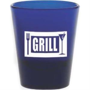 Blue Shot Glass