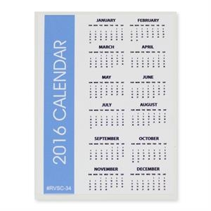 "Sports Calendar 3"" x 4\"" Removable Adhesive Vinyl Decal"