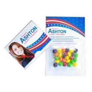 Mini Bag Skittles on Bifold Card