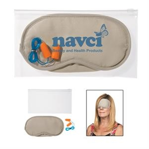 Earplugs and Eye Mask Set