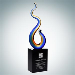 Art Glass Flame Award