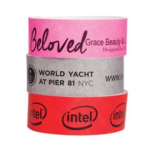 Custom 1 Color Wristband