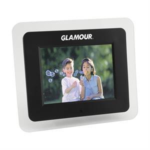 Digital 7'' Hi-Resolution Desktop Photo Frame.
